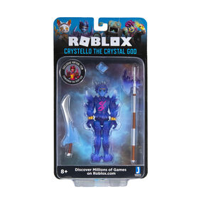 Roblox Crystello the Crystal God Action Figure - English Edition
