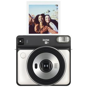 Appareil photo instantané Instax SQUARE SQ6 de Fujifilm - perle blanche