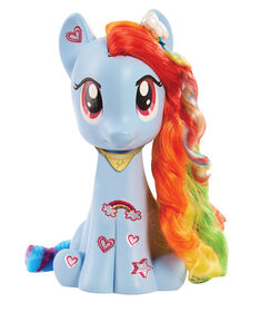 My Little Pony - Figurine Coiffer Rainbow Dash.