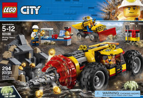 LEGO City La foreuse de la mine 60186.