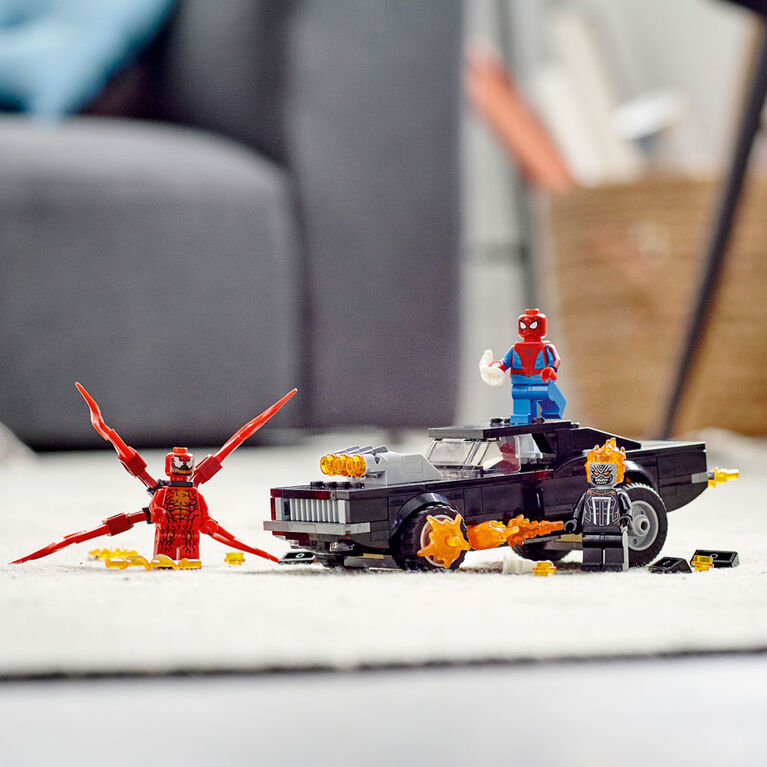 LEGO Super Heroes Spider-Man and Ghost Rider vs. Carnage 76173
