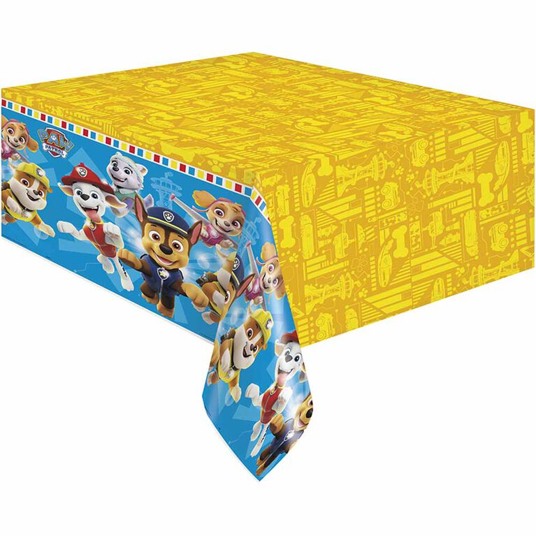 """Paw Patrol Table Cover 54""""x84"""""""