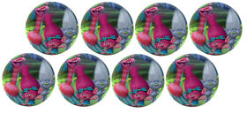 8 Pack Playball with Pump 4 inch Trolls