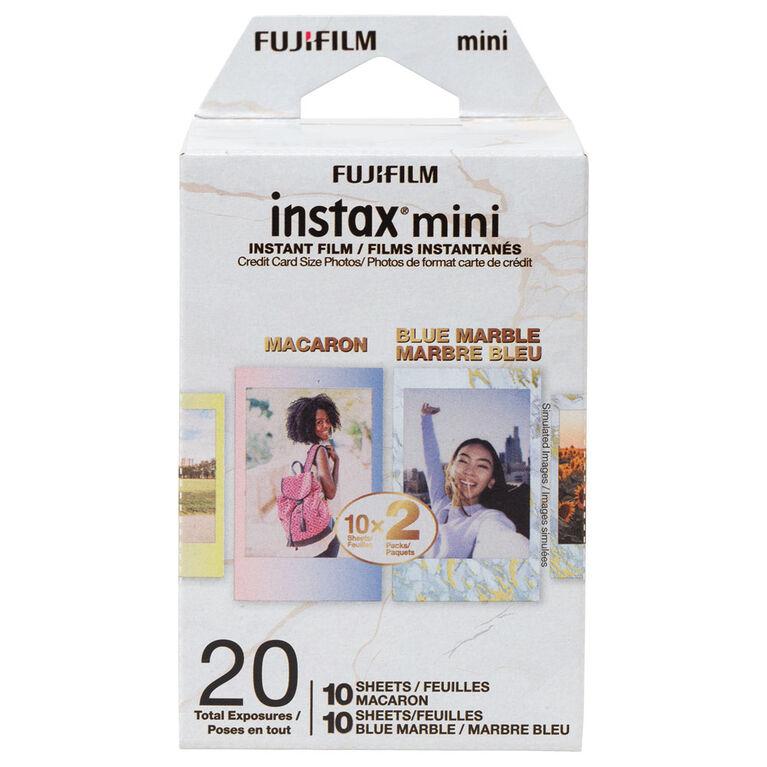 Fujifilm Mini Instant Film Pack Blue Marble/ Macaron