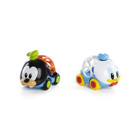 Disney BabyMC  Donald & Goofy Go GrippersMC paquet de 2