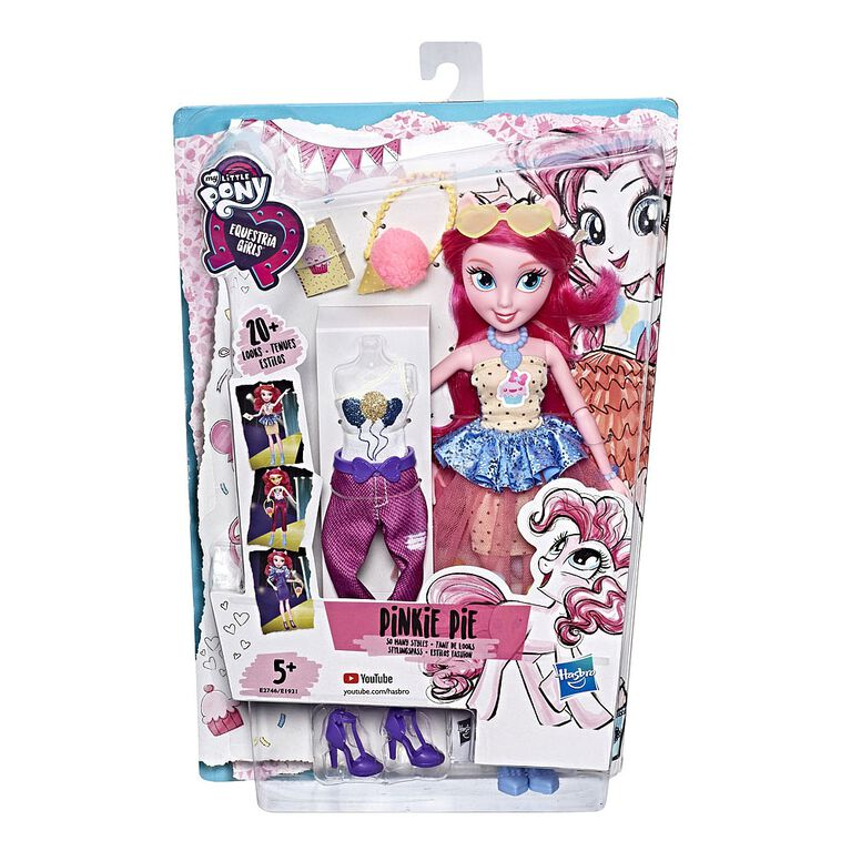 My Little Pony Equestria Girls So Many Styles Pinkie Pie - R Exclusive