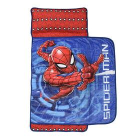 Couverture pour la sieste avec oreiller intégré, Spiderman marvel