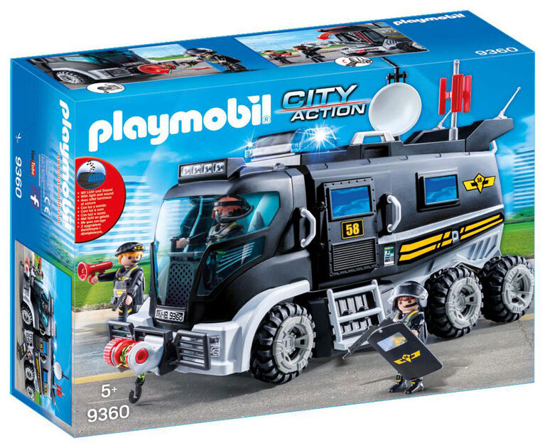 Playmobil - Tactical Unit Truck
