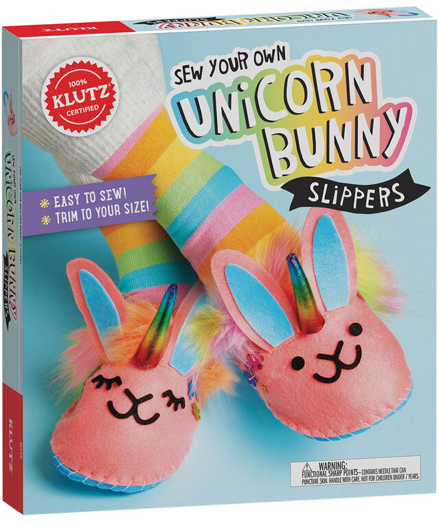 Scholastic - Klutz: Sew Your Own Slippers - English Edition