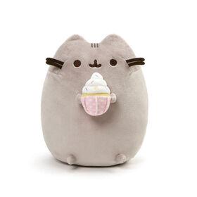 GUND Pusheen Snackables Sprinkled Cupcake Plush Stuffed Cat, 9.5 Inch