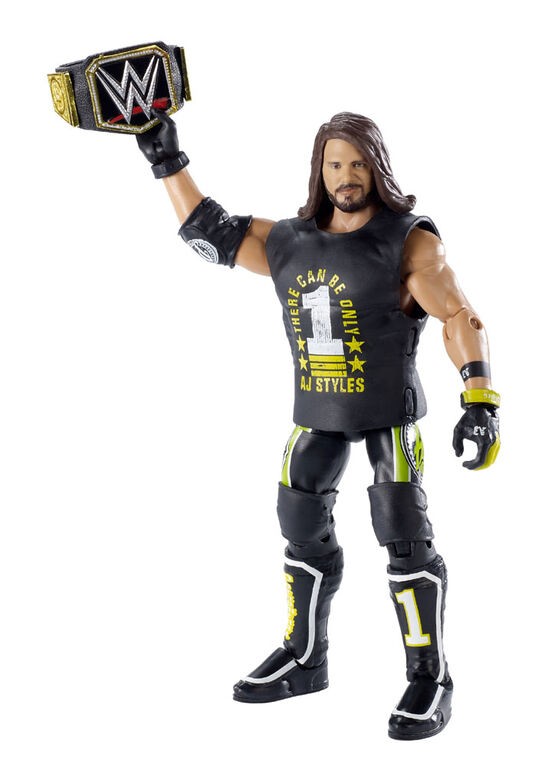 WWE AJ Styles Elite Top Picks Action Figure - English Edition