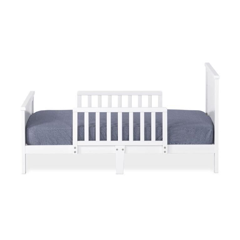 Lit pour tout-petit de lit Wilmington de Forever Eclectic, blanc mat