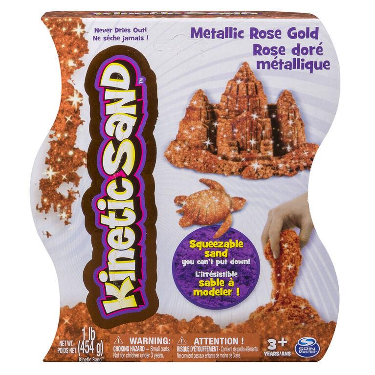 Kinetic Sand 1lb Metallic Rose Gold