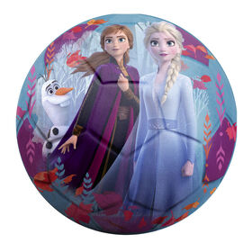 Ballon de Soccer Jr en Mousse La Reine des Neiges 2