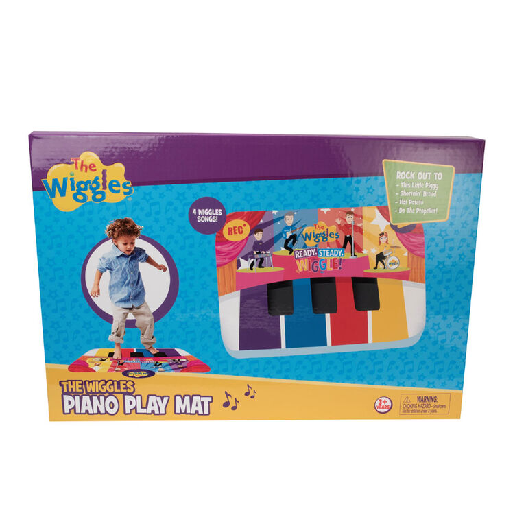 Wiggles Play by Colour Piano Mat
