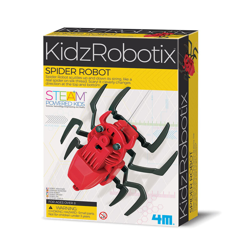 4M KidzRobitix Spider Robot - English Edition