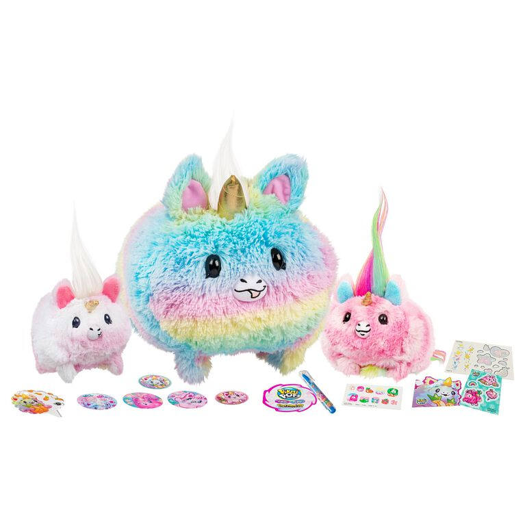 Pikmi Pops Season 3 Giant Pikmi Flips - Gigi the Unicorn - Exclusive - R Exclusive