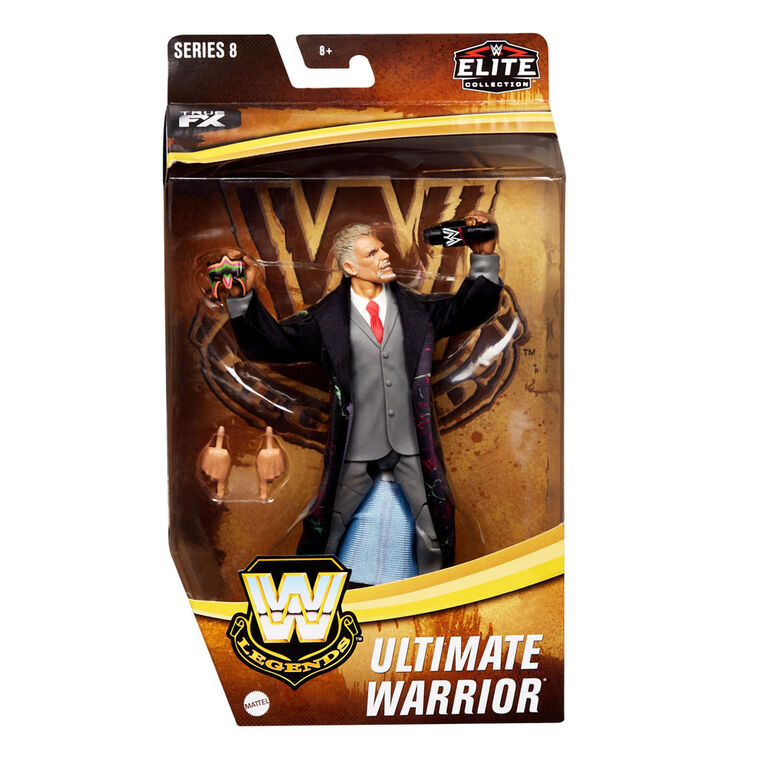 WWE Legends Ultimate Warrior Elite Collection Action Figure - R Exclusive