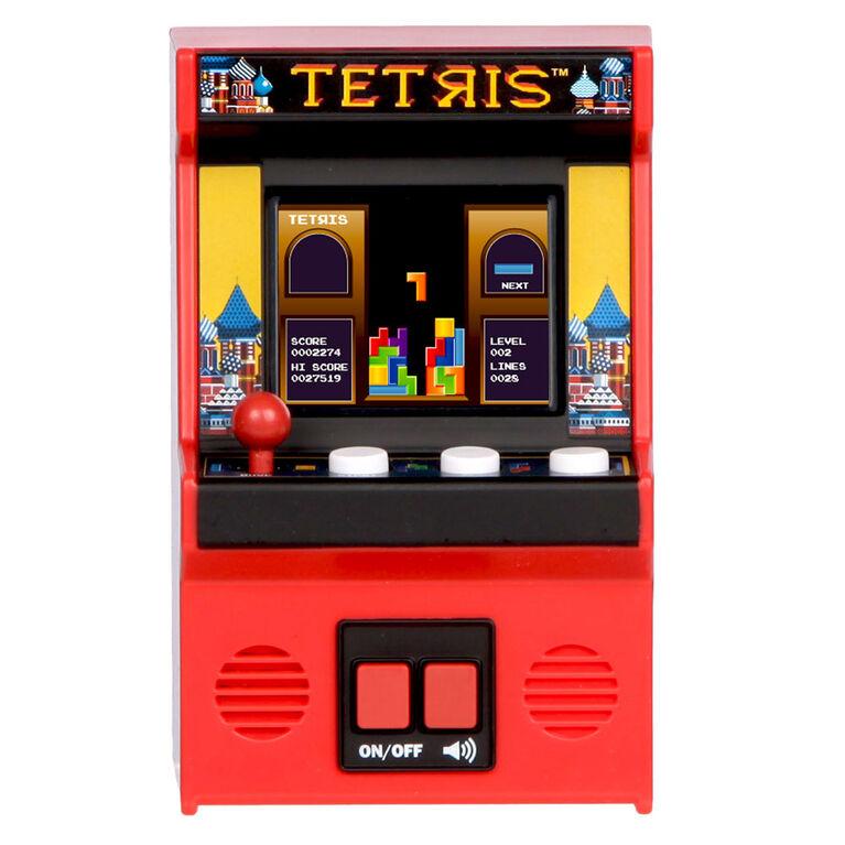 Arcade Classiques - Tetris Rétro Mini Arcade Jeu