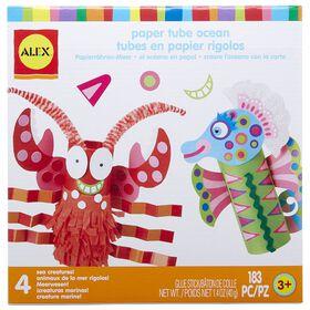 ALEX  Little Hands Tube De Papier Ocean.