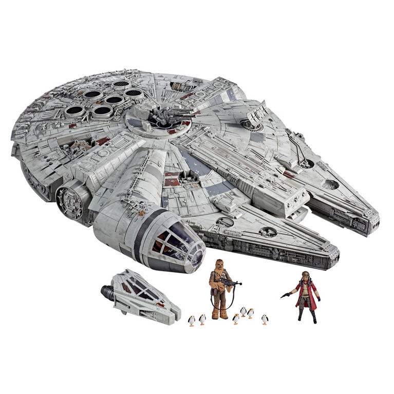 Star Wars The Vintage Collection Galaxy's Edge Millennium Falcon Smuggler's Run Electronic Toy Vehicle - R Exclusive