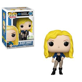 Funko POP! DC: Super Heroes - Black Canary Vinyl Figure - R Exclusive