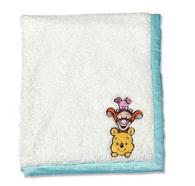 Disney Baby Reversible Baby Blanket- Winnie The Pooh