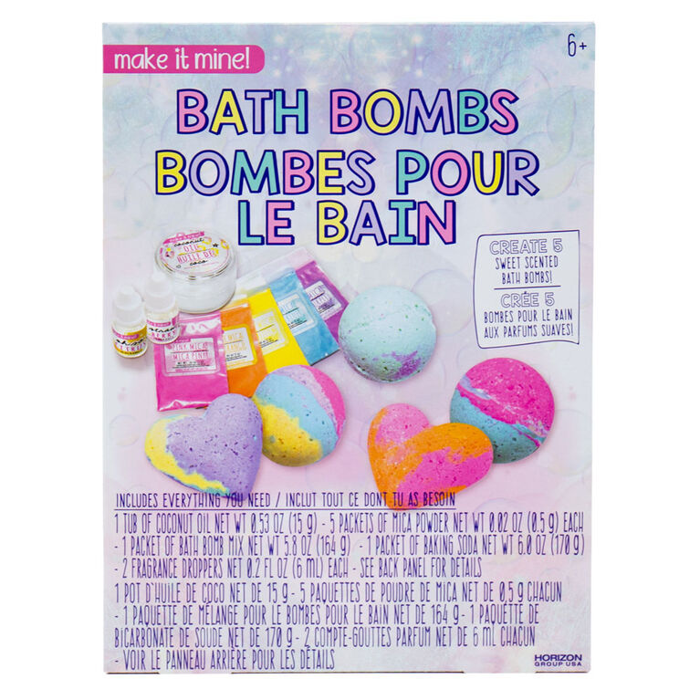 Make it Mine Bath Bombs