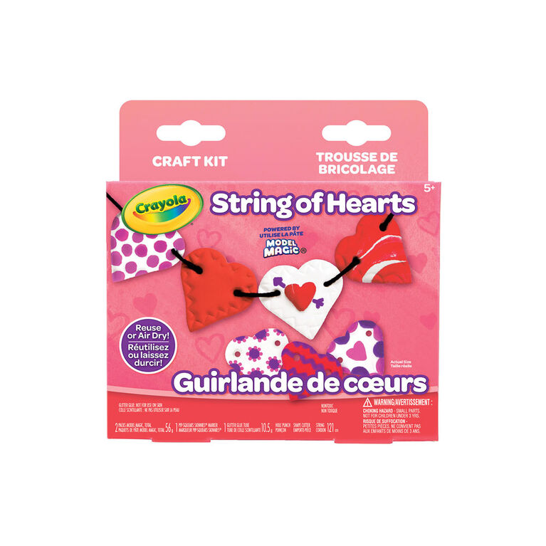 Crayola String of Hearts Craft Kit
