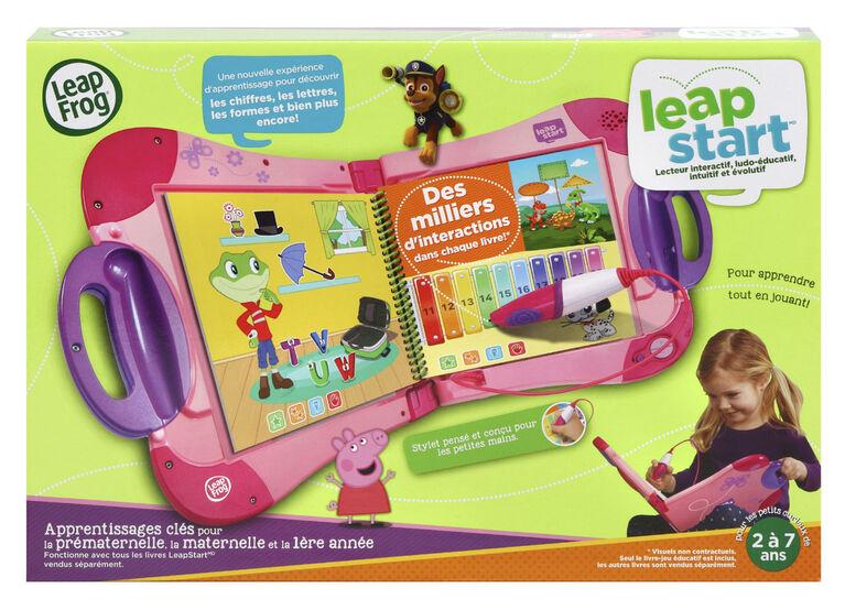 Leapfrog Leapstart Lecteur Interactif Rose Edition Francaise