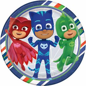 "PJ Masks  9""  Plates, 8 pieces"