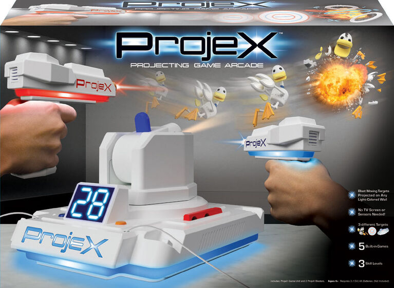 52703 Projex - Jeu d'arcade en projection