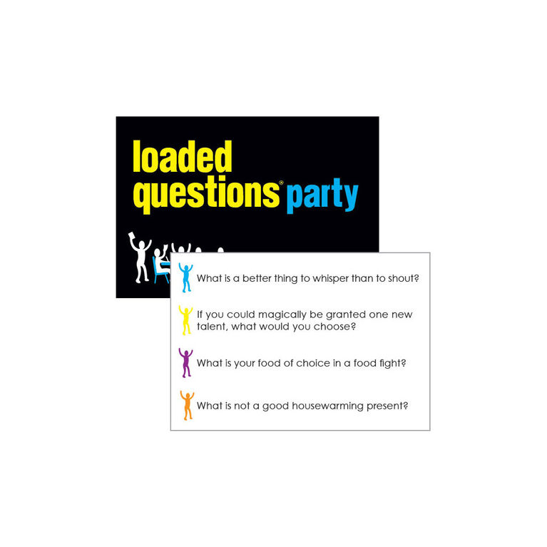 Loaded Questions Party Game - English Edition