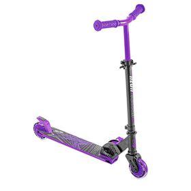 Neon Vector Kids Folding Scooter Purple