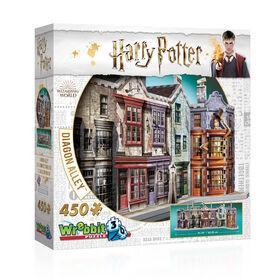 Harry Potter - WREBBIT 3D Jigsaw - Diagon Alley - 450 Pieces