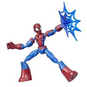 Marvel Spider-Man Bend and Flex Spider-Man Action Figure Toy, 6-Inch Flexible Figure
