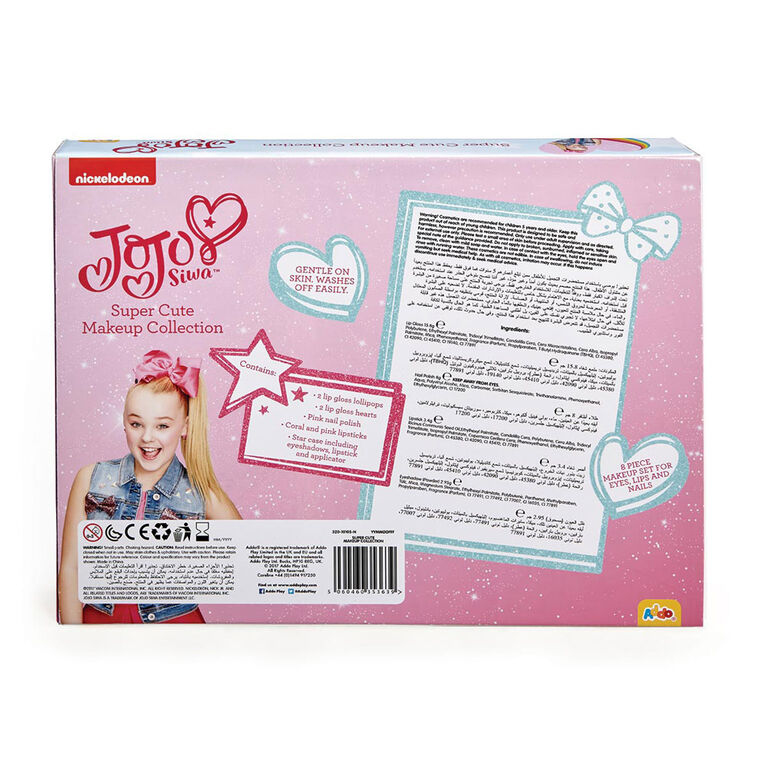 JoJo Siwa Super Cute Makeup Case - English Edition