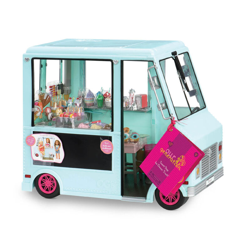 Our Generation Sweet Stop Ice Cream Truck - Blue - R Exclusive