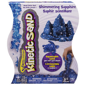 Kinetic Sand 1lb Shimmering Blue Sapphire