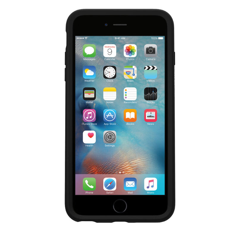 Étui Symmetry d'OtterBox pour iPhone 6s Plus noir