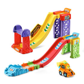 VTech Go! Go! Smart Wheels 3-in-1 Launch & Go Raceway - English Edition