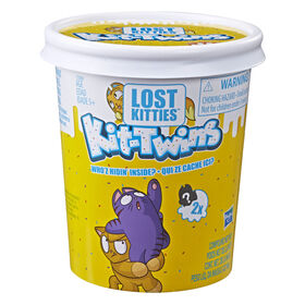 Lost Kitties Kit-Twins Toy, 36 pairs to collect