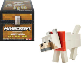 Minecraft– Figurine Loup à Construire