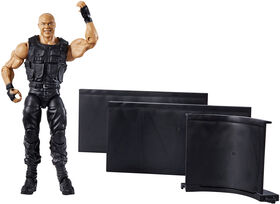 Figurine articulée Collection Elite Fan Central WWE - Kurt Angle.