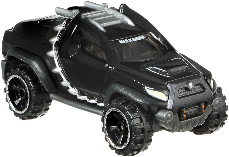 Hot Wheels Marvel Character Car - Black Panther