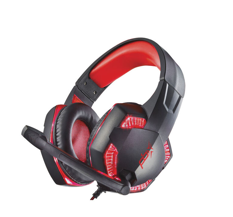 Raptor pro plus gaming headset with led lights