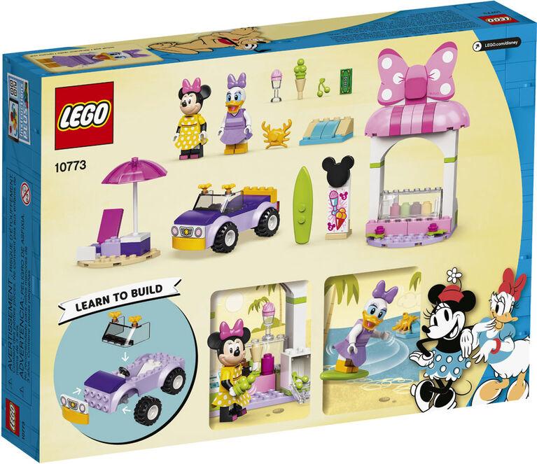 LEGO Mickey and Friends Le kiosque de crème glacée de Minnie Mouse 10773
