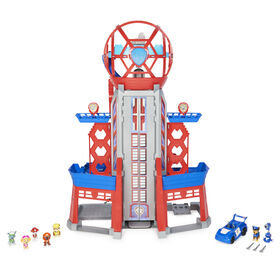 PAW Patrol, Movie Ultimate City 3ft. Tall Transforming Tower with 6 Action Figures, Toy Car, Lights and Sounds