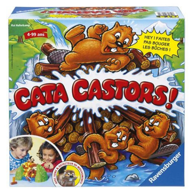 Ravensburger: Cata Beavers! - French Edition