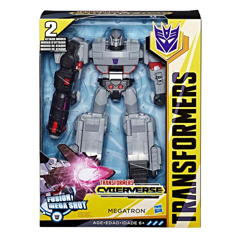 Transformers Cyberverse - Megatron classe ultime.